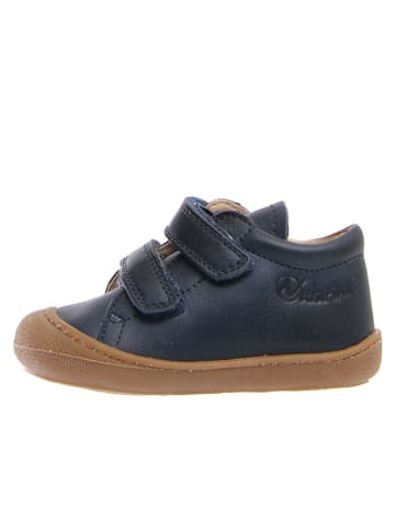 """Naturino Leren sneakers """"Cocoon"""" donkerblauw"""