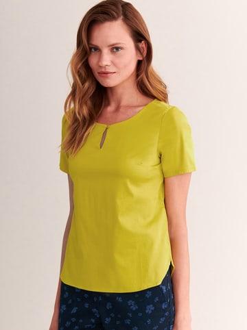TATUUM T-shirt w kolorze żółtym