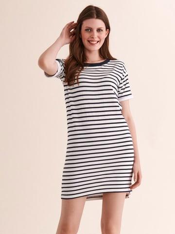 TATUUM Sukienka w kolorze biało-czarnym