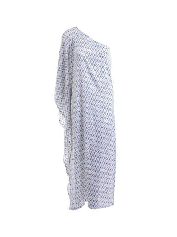 Boho Style Sukienka w kolorze białym ze wzorem