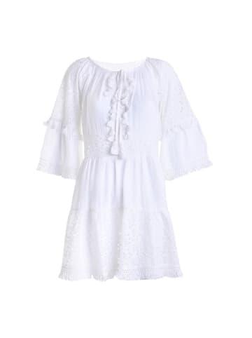 Boho Style Sukienka w kolorze białym