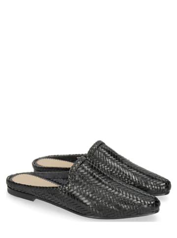 "MELVIN & HAMILTON Leren slippers ""Joolie 17"" zwart"