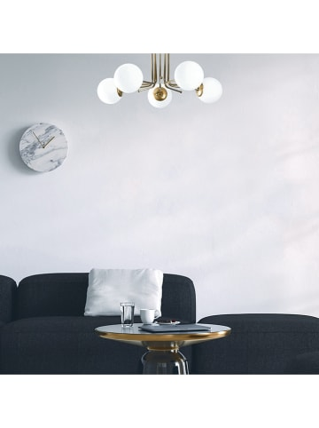 """ABERTO DESIGN Lampa sufitowa """"Daisy"""" w kolorze złoto-białym - Ø 80 cm"""