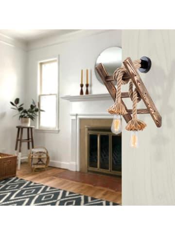 """ABERTO DESIGN Wandlamp """"Erebos"""" naturel - (B)26 x (H)25 cm"""
