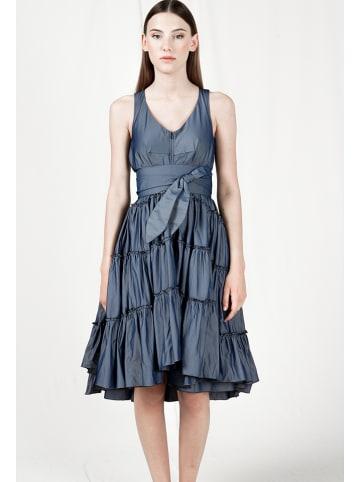 """Indies Kleid """"Daniela"""" in Blau"""
