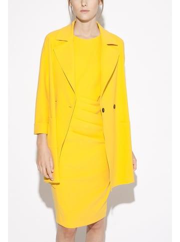Indies Płaszcz w kolorze żółtym
