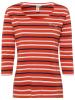 Roadsign Shirt in Rot/ Schwarz/ Weiß