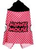 """Disney Minnie Mouse Ręcznik """"Minnie Mouse"""" w kolorze różowo-czarnym z kapturem - 120 x 80 cm"""
