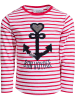 """Salt and Pepper Koszulka """"Voyage"""" w kolorze czerwono-białym"""