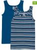 Schöller kids 2-delige set: onderhemden blauw/meerkleurig