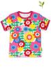 Toby Tiger Koszulka w kolorze różowym ze wzorem