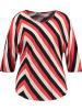 SAMOON Shirt meerkleurig