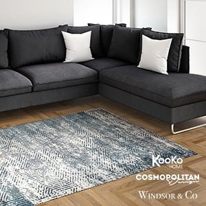 Kooko Home, Cosmopolitan design, Windsoor & Co