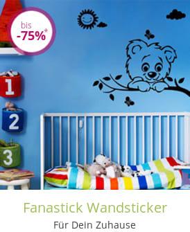Fanastick Wandsticker
