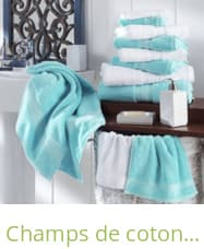 Champs de coton - Handtücher und Bademäntel