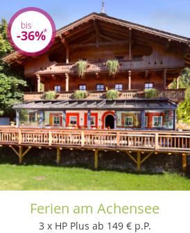 Ferien am Achensee