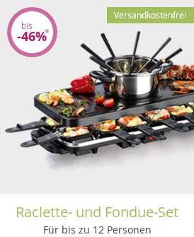 Raclette- und Fondue-Set
