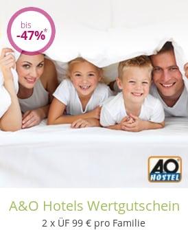 A&O Hotels Wertgutschein