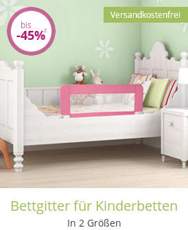 Bettgitter für Kinderbetten