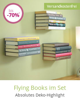 Flying Books im Set