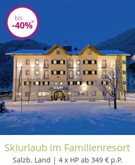 Skiurlaub im Familienresort
