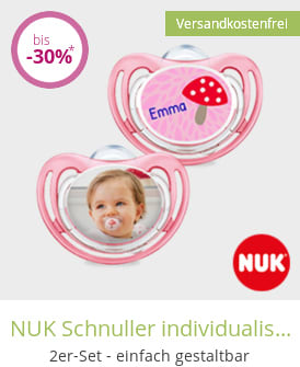 NUK Schnuller individualisiert