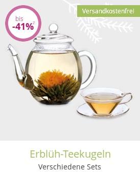 Erblüh-Teekugeln