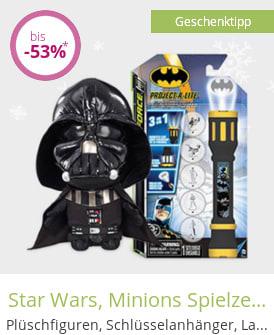 Star Wars, Minions Spielzeug & mehr