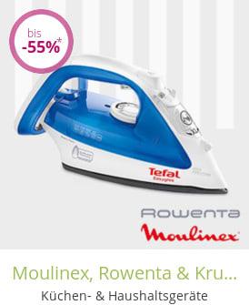 Moulinex, Rowenta & Krups - Elektroartikel