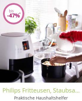Philips Fritteusen, Staubsauger, Bügeleisen