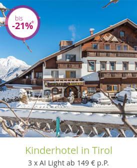 Kinderhotel in Tirol