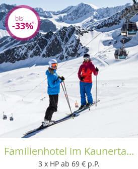 Familienhotel im Kaunertal / Tirol