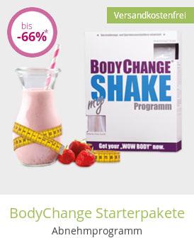 BodyChange Starterpakete