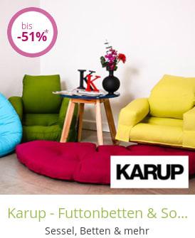 Karup - Futtonbetten & Sofas