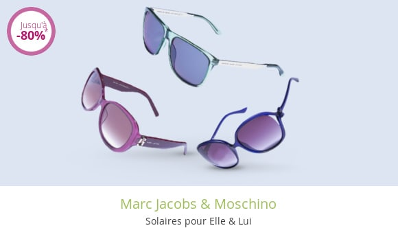 Marc Jacobs & Moschino
