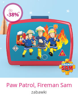Paw Patrol, Fireman Sam - zabawki
