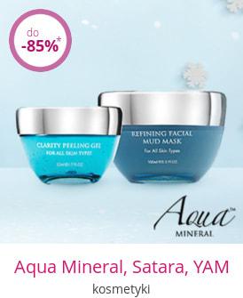 Aqua Mineral, Satara, YAM - kosmetyki