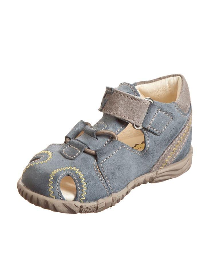 """Primigi Leren sandalen """"Hans"""" blauw/grijs"""
