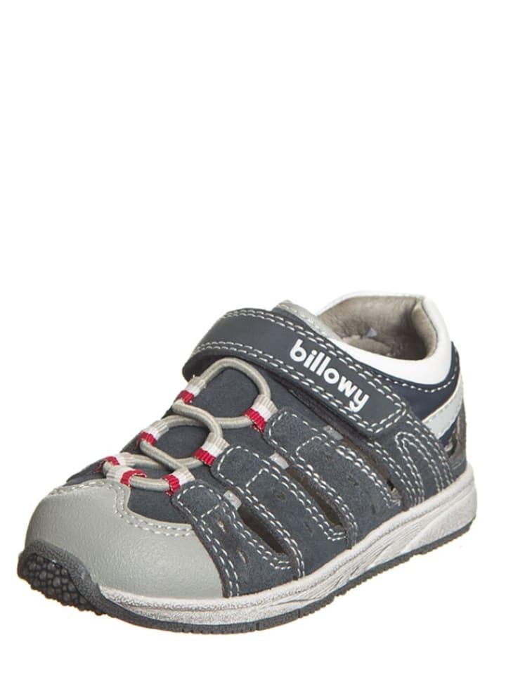 Billowy Outdoorowe sandały w kolorze granatowym