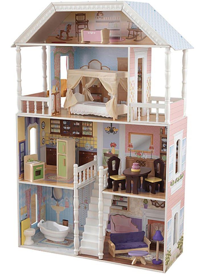 kidkraft puppenhaus savannah mit zubeh r ab 3 jahren limango outlet. Black Bedroom Furniture Sets. Home Design Ideas