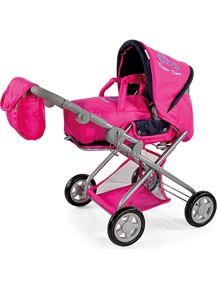 knorrtoys kombi puppenwagen kyra in pink ab 3 jahren limango outlet. Black Bedroom Furniture Sets. Home Design Ideas