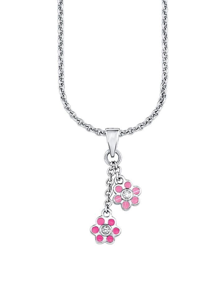Lillifee Silber-Halskette mit Anhänger - (L)37 cm