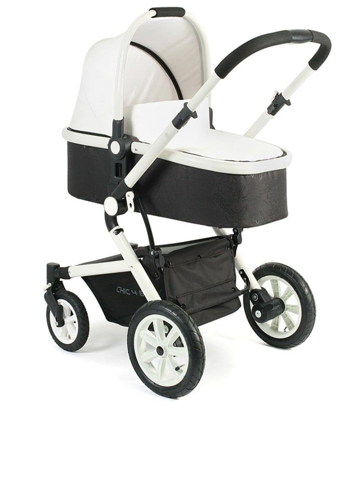 chic4baby kombi kinderwagen passo in wei schwarz limango outlet. Black Bedroom Furniture Sets. Home Design Ideas