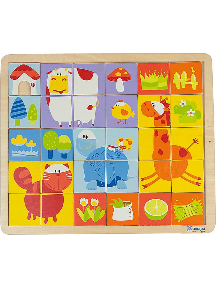 andreu toys 30tlg puzzle bauernhof ab 3 jahren limango outlet. Black Bedroom Furniture Sets. Home Design Ideas