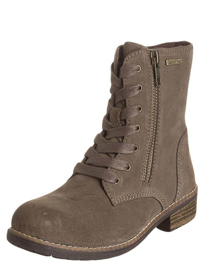 Gabor Kids Leren boots taupe