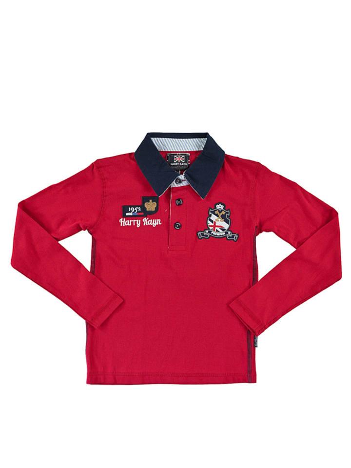 Harry Kayn Poloshirt rood