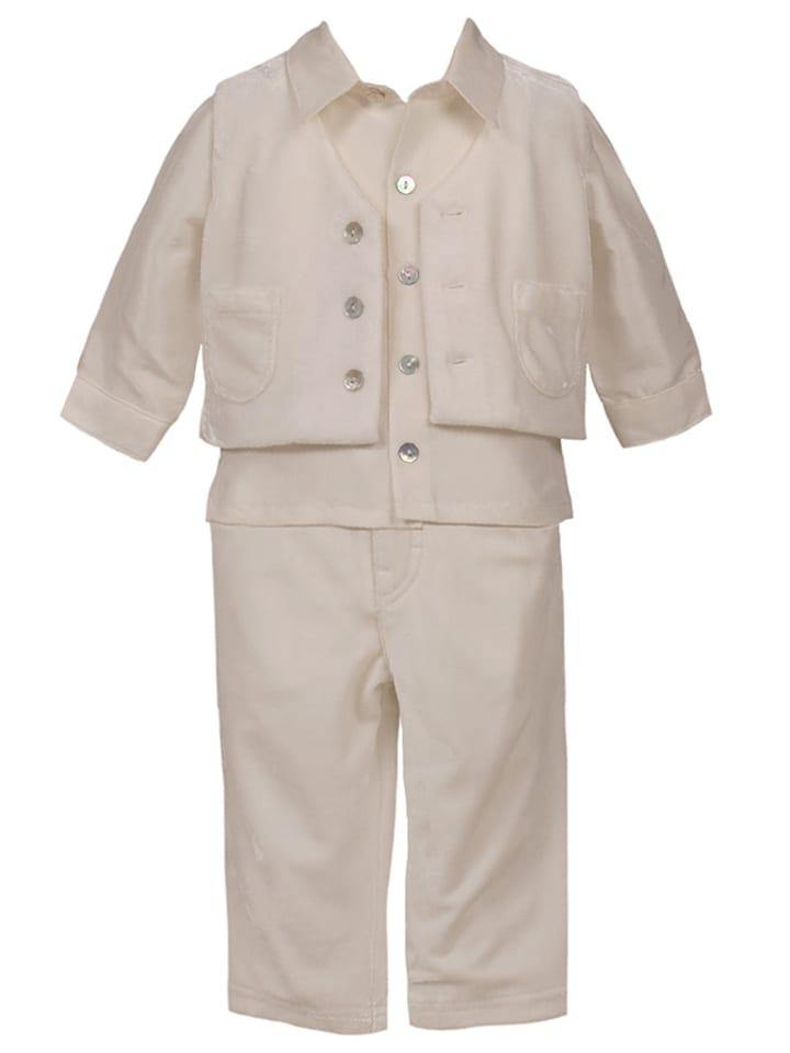 "Heritage 3-delige outfit ""Rowan"" crème"