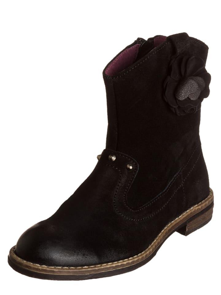 "Mod8 Leren laarzen ""Nola"" zwart"