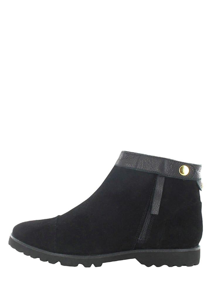 flip flop leder ankle boots taxim in schwarz limango. Black Bedroom Furniture Sets. Home Design Ideas