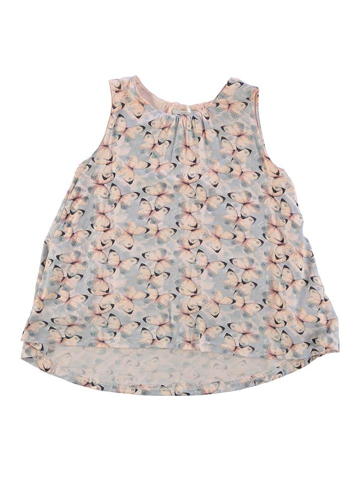 Name it Kleid in Rosa/ Hellblau
